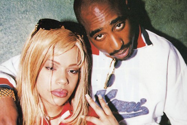 Tupac and Faith Evans