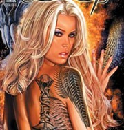 Cover of 1st issue of Jenna's Shadow Hunter comic