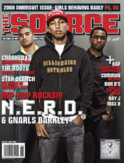 The Source magazine cover