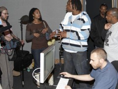 KRS-One & The Los Angeles Recording School Make Beautiful Music Together