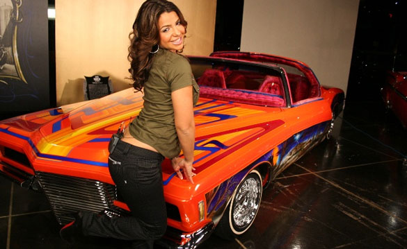 Tv Screens In February As She Plays Host For A New Show Modification Car Contest