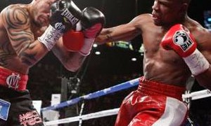 Floyd Mayweather vs Miguel Cotto at the MGM on May 5, 2012