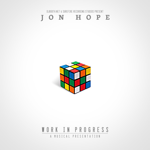 Jon Hope - Work In Progress LP