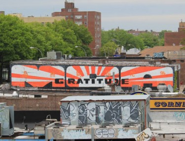 Entree Lifestyle - MCA mural - Brooklyn