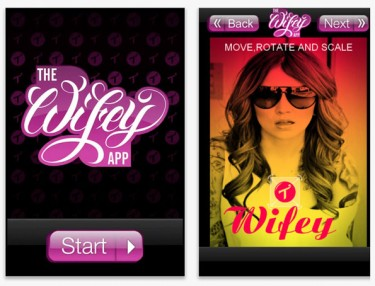 The Wifey App by Two In The Shirt