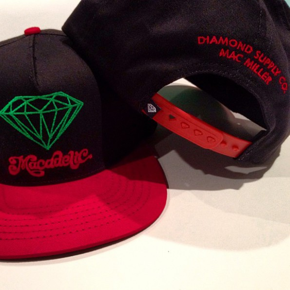 Mac Miller x Diamond Supply Co x Mountain Dew - Macadelic Snapback