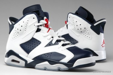 Air Jordan 6 Retro - Midnight Navy / Olympic