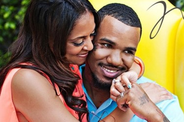 The Game and girlfriend Tiffney Cambridge
