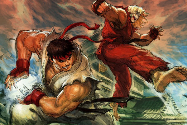 Street Fighter - Ryu and Ken