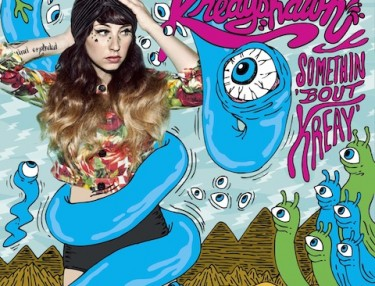 Kreayshawn - Somethin' Bout Kreay coverart