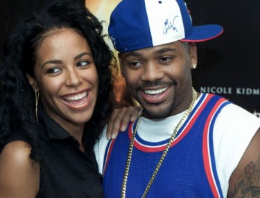 Damon Dash and Aaliyah