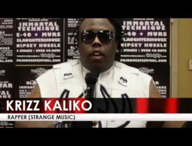 Krizz Kaliko Talks Touring Without Tech N9ne, Says Its Like 'Cutting The Umbilical Cord'