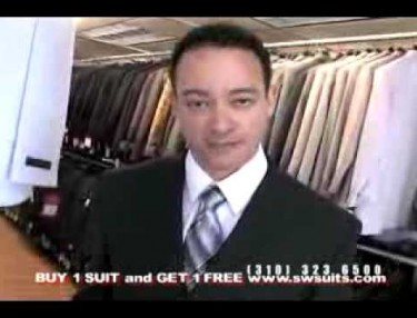 Kid, of Kid N Play, Finds New Hustle -- Selling Suits On Local TV