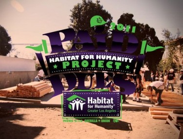 Murs, Paid Dues Fans Help 'Habitat for Humanity' Build Homes For Families