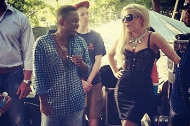 Kendrick Lamar and Lady Gaga
