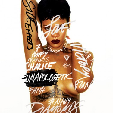 Rihanna - Unapologetic coverart