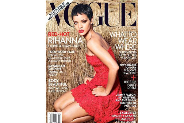 Rihanna - Vogue November 2012 issue