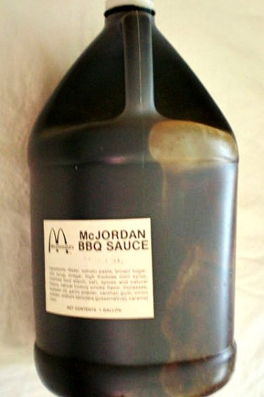 1992 McJordan bbq sauce from McDonald's