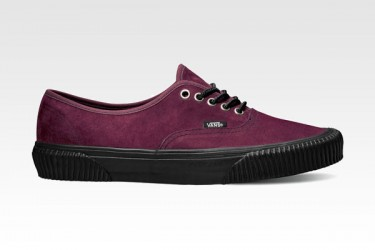 Vans California Collection Holiday 2012: Authentic Hiker CA Suede Pack