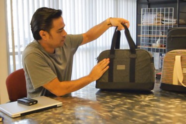 Hex co-founder Dan Maravilla talks Drake Laptop Duffel