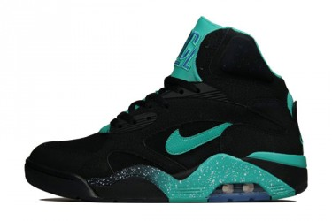 Air Force 180 Mid - Black/Atomic Teal/Violet Force