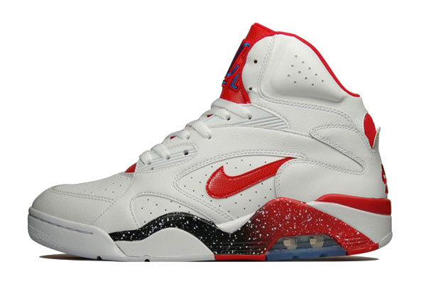 Air Force 180 Mid -  White/Hyper Red/Photo Blue