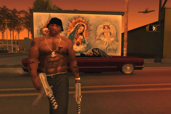 CJ - Grand Theft Auto: San Andreas