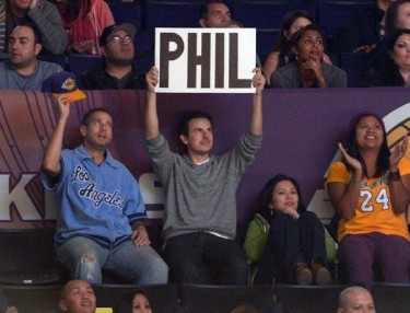 Lakers fans wanted Phil Jackson back.