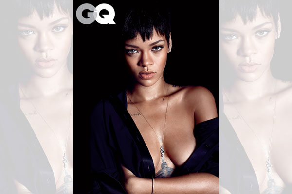 Rihanna - GQ Men of the Year Issue 2012