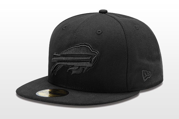 New Era Black-on-Black NFL 59FIFTYS Collection