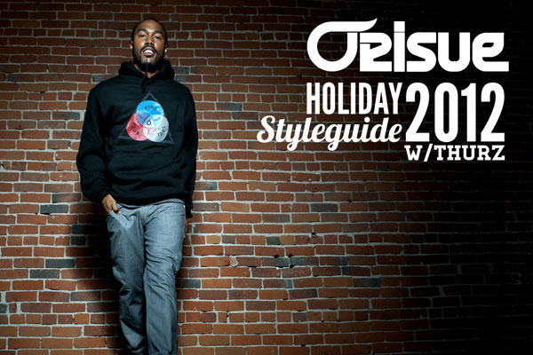 Orisue Holiday 2012 Style Guide with THURZ