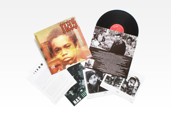 Nas - Illmatic - Deluxe Gold Edition