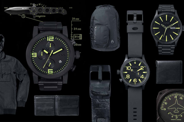 Nixon Spring/Summer 2013 Black & Lum Collection