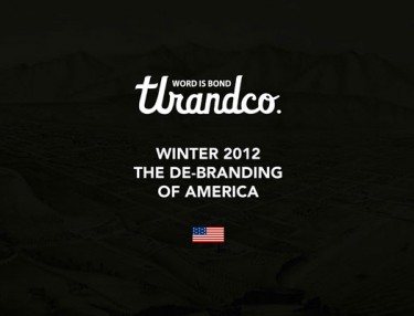 TLR&Co Winter 2012 De-Branding Of America Collection