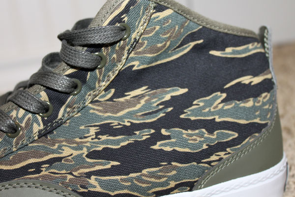 Crooks & Castles Taylor Hi-Top - Tiger Camo Olive