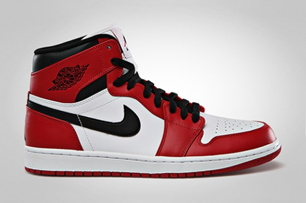 Air Jordan 1 Retro - white/varsity red/black