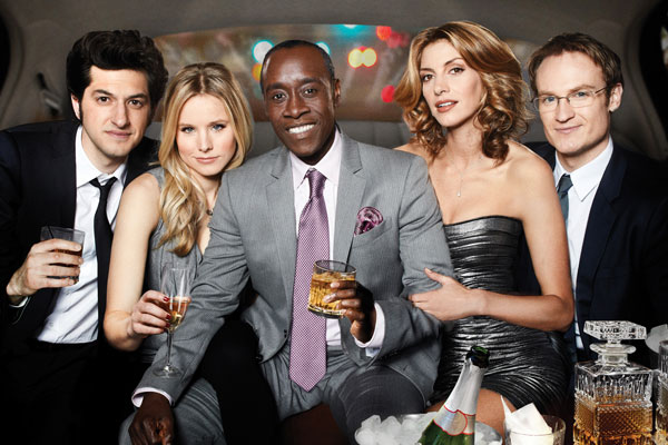 House Of Lies Cast   Clyde, Jeannie, Marty, Monica, And Doug