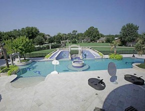 Kenyon Martin's Arlington, Texas mansion.