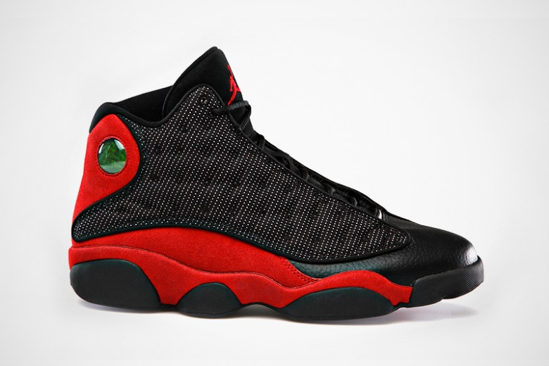 2013 Black/Varsity Red-White Air Jordan 13