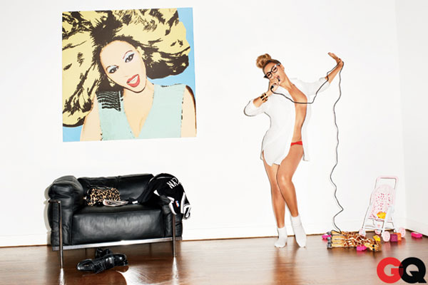 Beyonce for GQ, February 2013 issue.