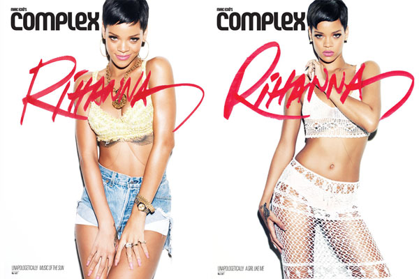 Rihanna, January 2013 Complex issue.