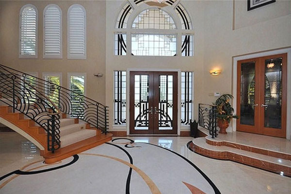 Robert Horry's Texas mansion.
