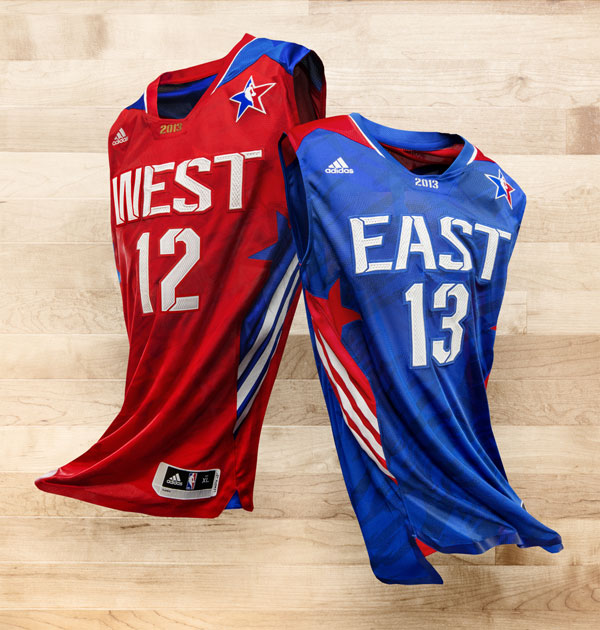 Adidas 2013 NBA All-Star jerseys