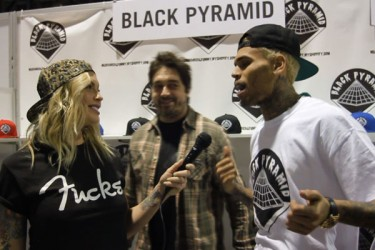 Agenda Show With Bridget Blonde - The Blonde Locks, Chris Brown, Brooklyn Projects