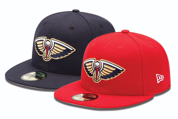 New Era x New Orleans Pelicans 59FIFTY Collection