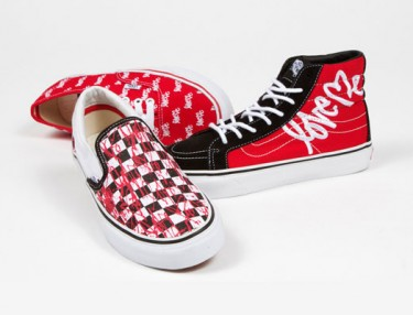Vans x LOVE Me Spring 2013 Classics Collection