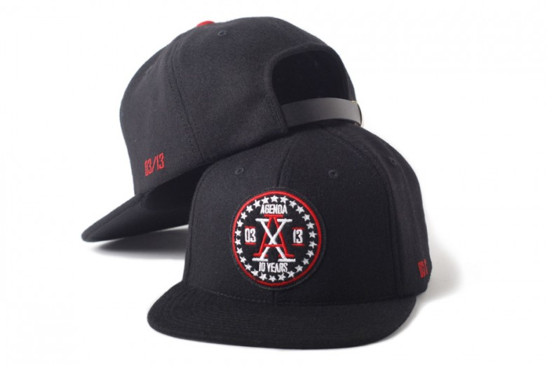 Agenda 10th Anniversary Cap Collection