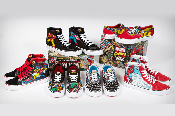 Vans x Marvel Footwear Collection 2013