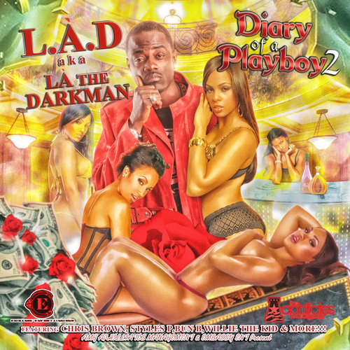 LA The Darkman - Diary Of A Playboy 2 (Mixtape)