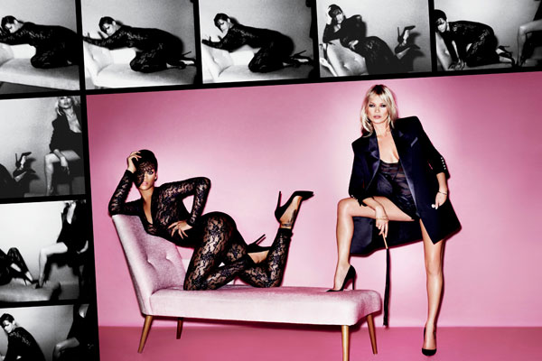 Rihanna and Kate Moss for V Magazine